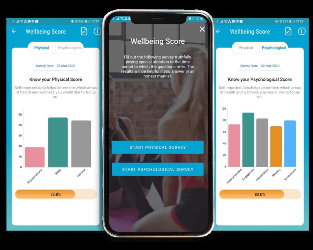 Zevo wellbeing score