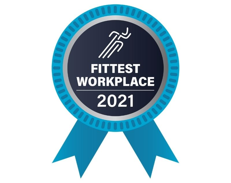Fittest workplace logo 2021
